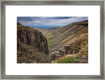 High Cup Nick Framed Print by Peter Stuart