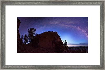 High Desert Dawn Framed Print by Leland D Howard