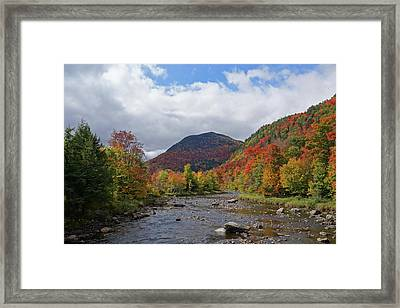 High Falls Gorge Mountain Wilmington Ny New York Framed Print by Toby McGuire