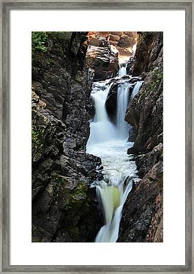 High Falls Gorge Framed Print by Sierra Vance