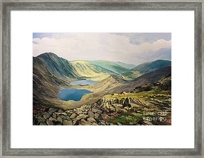 High In The Mountains Framed Print by Kiril Stanchev