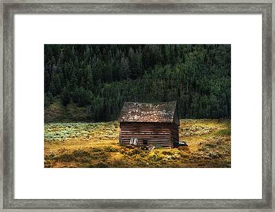 High Lonesome - Www.thomasschoeller.photography Framed Print by Thomas Schoeller