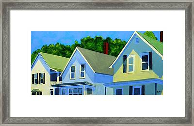 High Noon Framed Print by Laurie Breton