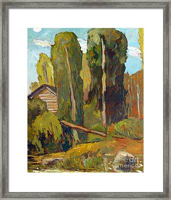 High Noon On The Eel Framed Print by Charlie Spear