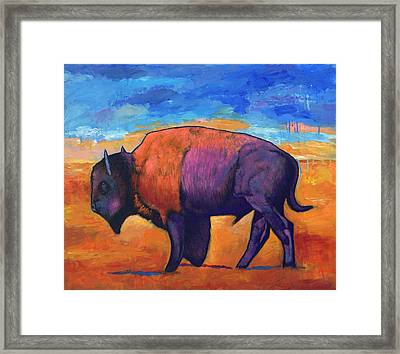 High Plains Drifter Framed Print by Johnathan Harris