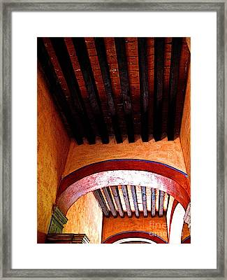 High Rafters Framed Print by Mexicolors Art Photography