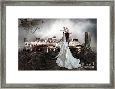 High Tea Framed Print by Shanina Conway
