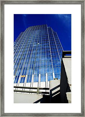 High Up To The Sky Framed Print by Susanne Van Hulst