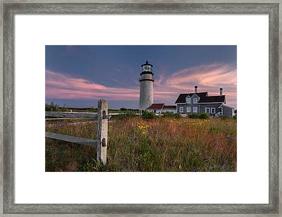Highland Light Cape Cod 2015 Framed Print by Bill Wakeley