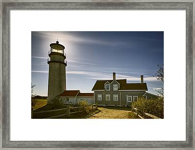 Highland Lighthouse Framed Print by Joan Carroll
