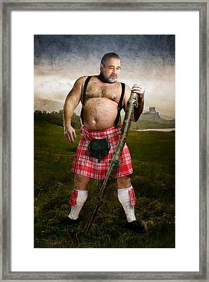 Highlands Framed Print by Bear Pictureart
