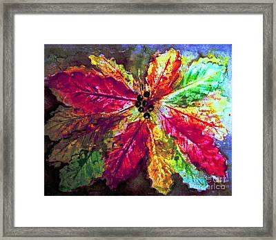 Highlighting Fall Splendor Framed Print by Hazel Holland