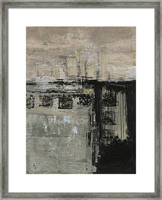 Highs And Lows Framed Print by Lorraine Lawson