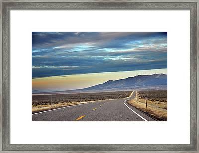 Highway 130 To Minersville Framed Print by Utah-based Photographer Ryan Houston