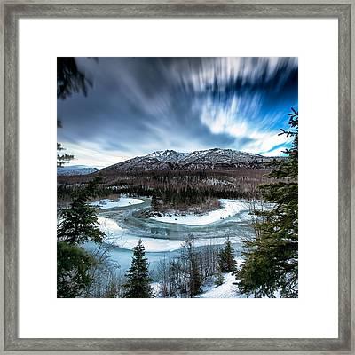 Hiland  Framed Print by Ed Boudreau