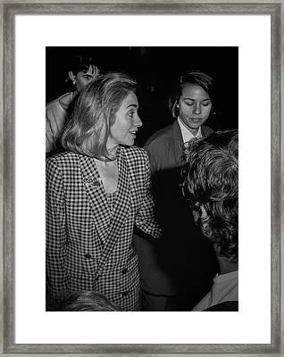 Hillary Framed Print by Ray Congrove