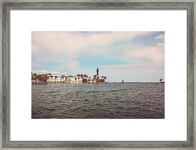 Hillsboro Lighthouse Framed Print by Scott Pellegrin