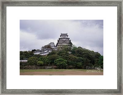Himeji Castle Framed Print by Ei Katsumata