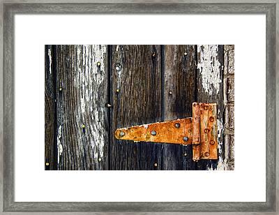 Hinge Framed Print by Humboldt Street
