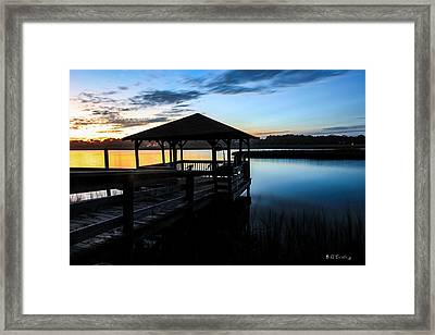 Hinson House Dock Framed Print by Bill Cantey
