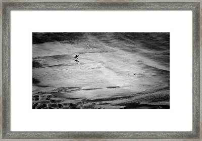 His Mistress The Sea Framed Print by Richard Bland
