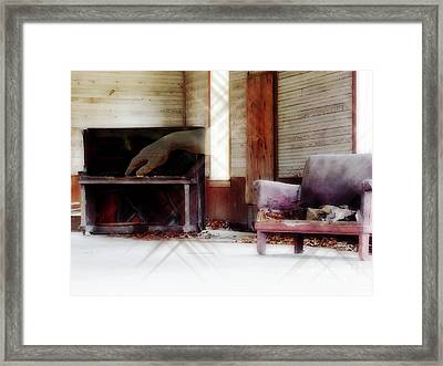 His Song Framed Print by Anita Faye