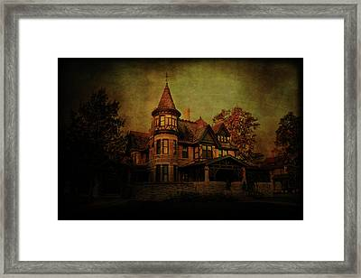Historic House Framed Print by Joel Witmeyer