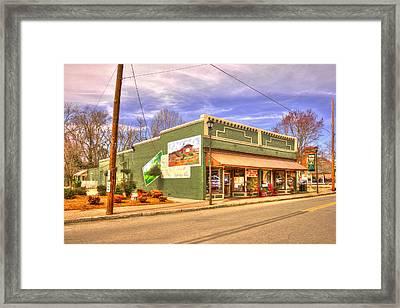 Historic Rutledge Georgia Framed Print by Reid Callaway