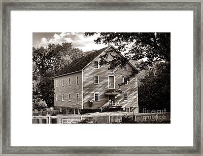 Historic Walnford Mill Framed Print by Olivier Le Queinec
