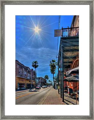 Historic Ybor Framed Print by Marvin Spates