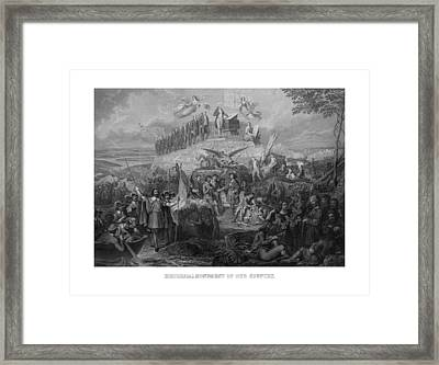 Historical Monument Of Our Country Framed Print by War Is Hell Store