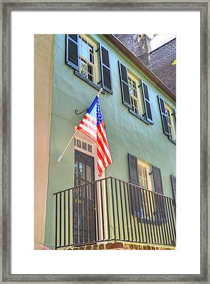 Historical Patriot Framed Print by Linda Covino