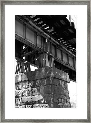 Historical Support Framed Print by Kelvin Booker