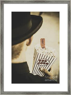 History In Film Framed Print by Jorgo Photography - Wall Art Gallery