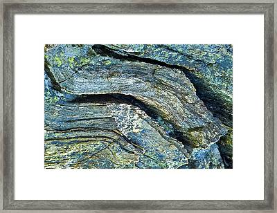 History Of Earth 7 Framed Print by Heiko Koehrer-Wagner