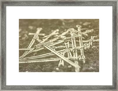 History Of The Sword Framed Print by Jorgo Photography - Wall Art Gallery