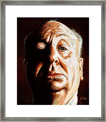Hitchcock Framed Print by Fay Helfer