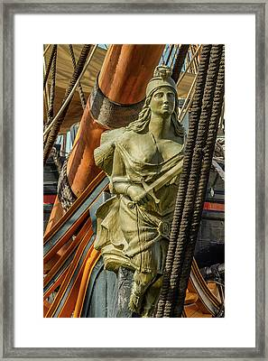 Hms Surprise Framed Print by Bill Gallagher