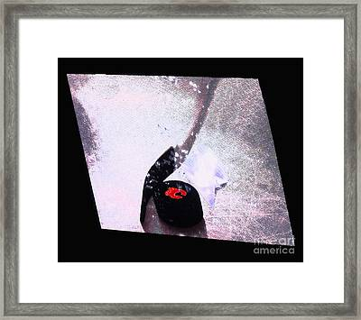 Hockey Season Begins Framed Print by Al Bourassa