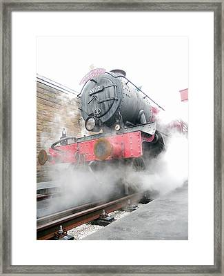 Hogwarts Express Train Framed Print by Juergen Weiss