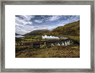 Hogwarts Express Framed Print by Vytenis Malisauskas