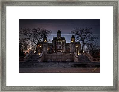 Hogwarts - Hall Of Languages Framed Print by Everet Regal