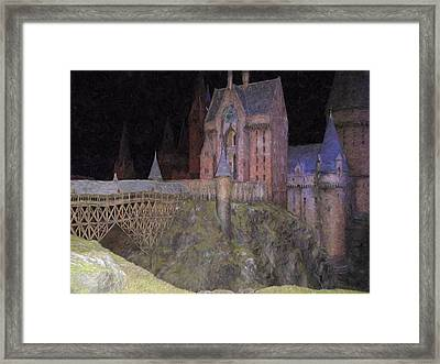 Hogwarts School Framed Print by Roy Pedersen