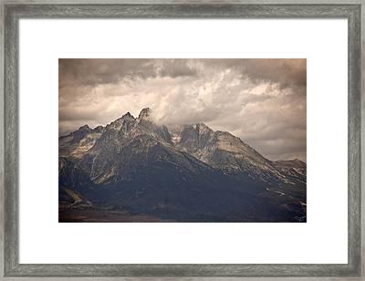Hohe Tatra Framed Print by Renata Vogl
