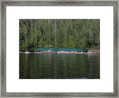 Hoiss Point Lodge #2 Framed Print by Nootka Sound
