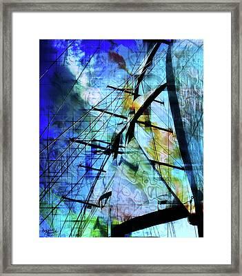 Hoist Framed Print by Monroe Snook