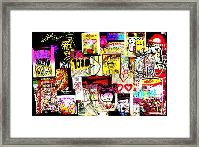 Hola Barcelona Framed Print by Funkpix Photo Hunter