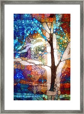 Hold Me In The White Light Framed Print by Tara Turner