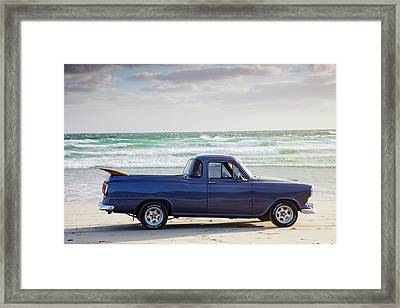 Holden Beach Framed Print by Sean Davey