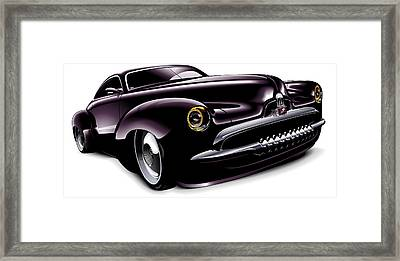 Holden Concept Car Framed Print by Brian Gibbs